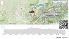 Vom Genfersee an den Lac du Bourget  Vollständiger Bericht bei: http://agu.li/Qf  Die Landschaft dürfte vermutlich einiges mehr hergeben, wäre nicht dauernd alles unter Nebel oder gar Regenwolken und Graupelschauer versteckt. Winter halt. Das GPS meint. 103,78 KM und 1893 Höhenmeter.