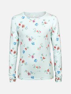 Turkis - Ricky Raglan langermet t-sjorte Barn, Blouse, Long Sleeve, Sleeves, Tops, Women, Fashion, Blouse Band, Moda