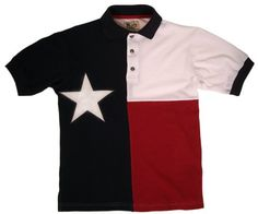 Texas Polo Shirt U.S.A MADE by FlagClothes $55.00