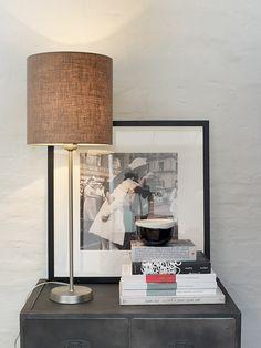 Seattle lamp, Pfister Decor, Table, Inspiration, Lamp, Light, Lighting, Pfister, Home Decor, Room