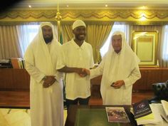 Malcolm Latif Shabazz on visit to Arabia