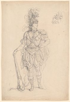 "French School | Ballet Costume for ""Hercules"" 