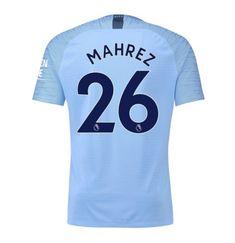 8ced3c7a Mahrez #26 Manchester City Home Vapor Match Shirt 2018-19 with printing