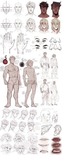 Mattheus/Kassian refs (bios update) by CanaryWitch.devia… on - Mattheus/Kassian refs (bios update) by CanaryWitch on DeviantArt Male Figure Drawing, Figure Drawing Reference, Guy Drawing, Art Reference Poses, Drawing Tips, Drawing Faces, Anatomy Reference, Drawing Poses Male, Male Face Drawing