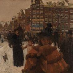 ixxi image bank rijksmuseum art the single bridge at the paleisstraat in amsterdam george hendrik breitner