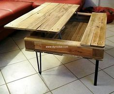 pallets coffee table 23