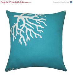 Back to School Sale Coral Throw Pillow   by LandofPillowsDotCom, $17.99