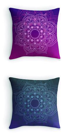 Mandala Queen Bed Cover -w- Pillow covers | Zen Like ...