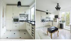 Подоконник-столешница из камня в интерьере кухни