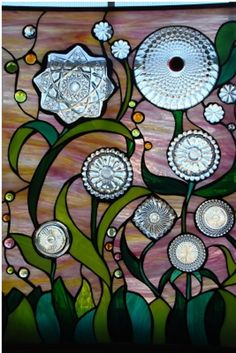 """2008 Large Panels 2nd. Place """"Dish Daisies"""""""
