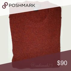 Brooks Brothers Men's 100% Shetland Wool Sweater Authentic Shetland Wool by Brooks Brothers  Super warm, crew neck style.  Ribbed cuffs and hem.  Great used condition. Brooks Brothers Sweaters Crewneck