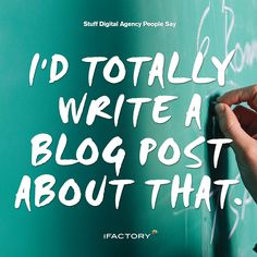 """""""I'd totally write a blog post about that."""" #stuffdigitalagencypeoplesay #artdirectorproblems #webdesignerproblems #DesignLife #digitallife #adlife #adagency #digitalagency #photooftheday #bestoftheday"""