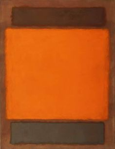 Mark Rothko, Orange, Brown No. 202 (Orange, Brown), 1963
