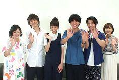 """[Sakurako x Hinako interview to Kento, shohei, Mirei, Shuhei] https://www.youtube.com/watch?v=bXUW2BUfgOk   Sakurako Ohara (Team """"Suikyu Yankees"""") x Hinako Sano (Team """"Suikyu Yankees & Death Note 2015"""") join cast of drama """"Sukina hito ga iru koto"""", July/2016"""