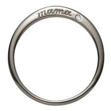 Sterling Silver Mama Ring