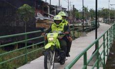 Policia en el Amazonas intensifica medidas de prevencion y control en Puente Mirador