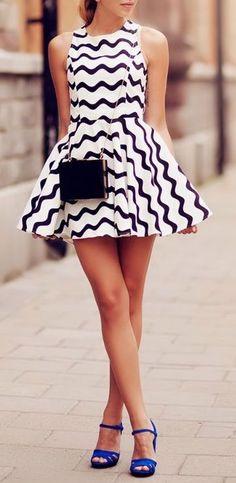Wavy Days Dress <3