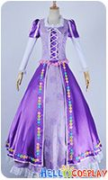 Disney,Cosplay Raiponce Rapunzel Longue Princesse Cosplay