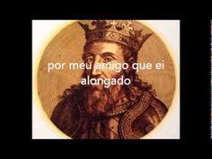 """El Rei D. Sancho I (autor) -  Ai eu coitada (cantiga de amigo) medieval) -.-.-.-.- - """"Ay eu coitada, como vivo em gran cuidado // por meu amigo que ei alongado! // Muito me tarda o meu amigo na Guarda!// Ay eu coitada, como vivo en gran desejo //por meu amigo que tarda e não vejo! // Muito me tarda // o meu amigo na Guarda!-  ribatejo.com"""