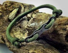 Fahrrad Kette Armband Leder-Armband Leder von DesignedTurning
