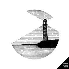 Daily Drawings by Derek Myers Cool Art Drawings, Pencil Art Drawings, Art Drawings Sketches, Tattoo Sketches, Tattoo Drawings, Ink Illustrations, Illustration Art, Image Tatoo, Stippling Art