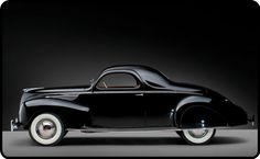 1938 Lincoln Zephyr Coupe