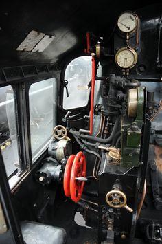 /by loose_grip_99 #flickr #steam #engine #controls #footplate