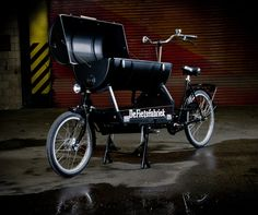 Awesome Special Black BBQ Bike - Special BBQ Bakfiets - De Fietsfabriek