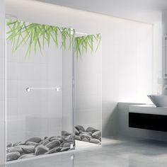 Mampara de baño personalizada