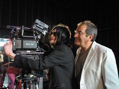 Michael Jackson #celeb behind #camera