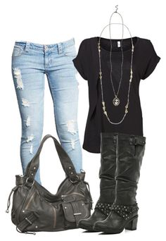 The off-duty casual look is a must-have of this summer season. What is so special about this style anyway? It's highly casual in nature, but you can make it Komplette Outfits, Fall Outfits, Casual Outfits, Fashion Outfits, Womens Fashion, Outfits Damen, Hipster Outfits, Beach Outfits, Casual Jeans