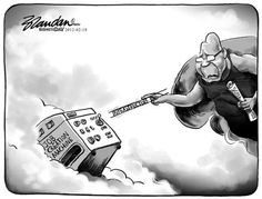 Inspired by Michaelangelo, this cartoon by BRANDAN [for Business Day] calls on the President to bring on some Job Creation! Business Day, Political Cartoons, Africa, Editorial, Movie Posters, Icons, Inspiration, Inspired, Biblical Inspiration