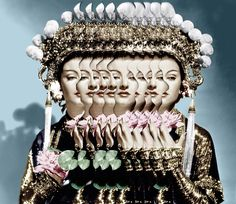 Fu Manchu / Supranaturalism (2014) handmade collage from c-print 29x42 cm www.dojo.electrickettle.fr