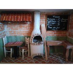 Diorama, Miniatures, Restaurant, Brick, Woodwind Instrument, Diner Restaurant, Dioramas, Restaurants, Minis
