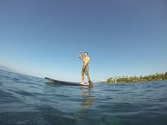 Stand Up Paddleboarding in Maui  Visit paddleboarddirect.com for info on Cruiser SUP boards