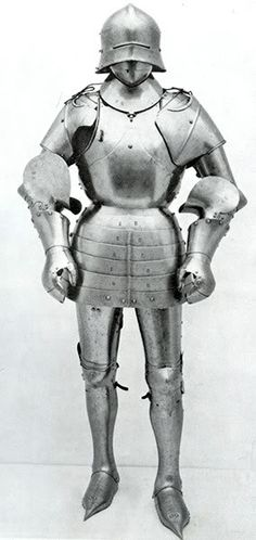 1460 - New York (USA) Metropolitan Museum, De Dino Collection Armor, composite, restored, removed from exhibit