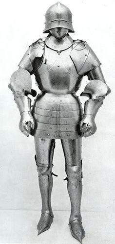 1460 - New York (USA) Metropolitan Museum, De Dino Collection Armor, composite, restored, removed from exhibit