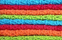 Crochet Cotton Washcloths Dishcloths by HandmadeByAnnabelle, $16.00 #crochet_dishcloths #how_to_crochet