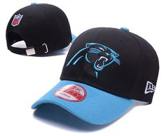 Carolina Panthers NFL Baseball Caps Black/Blue Curved Brim Hats|only US$6.00 - follow me to pick up couopons.