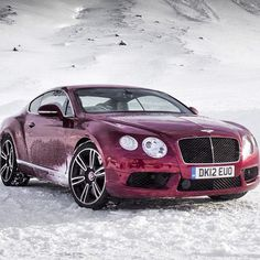 Bentley Continental Off-Piste