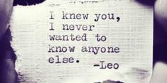 20 Love, Life and Heartbreak Quotes from Leo Christopher | YourTango #leochristopher #quotes