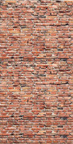 Red/Brown Brick Printed Backdrop - 7020 Brown Brick, Faux Brick, Brick And Stone, Vintage Wallpaper, Brick Wallpaper, Brick Paper, Red Brick Walls, Brick Texture, Brick Wall Background