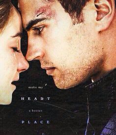 Tobias and Tris on We Heart It