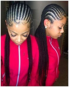 STYLECASTER | Protective Hairstyles to Try | Straight Back Cornrows #BlackWomensBraids #ProtectiveBraids click now to see more...