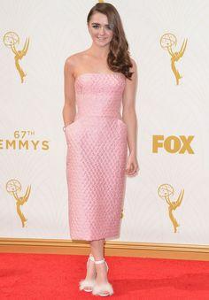 Maisie Williams aux Emmy Awards 2015