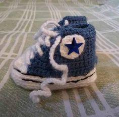 De Crochet Baby Mejores 134 Zapatitos Imágenes Shoes Converse PqvSXEx