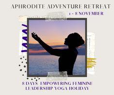 Yoga Holidays, 8 Days, Archetypes, Aphrodite, Cyprus, Restore, Letting Go, Clarity, Leadership
