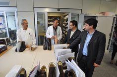 Delegazione del Ministero della Previdenza sociale brasiliano - Centro Protesi