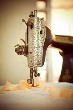 Who taught you how to run the thread from the spool to the needle? Could you do it today?
