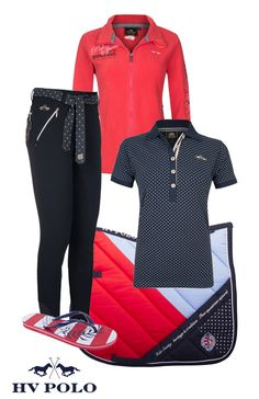 ...HV POLO Navy-Red Summer 2016 - Epplejeck - HV Polo is my favourite brand when it comes to equestrian products.